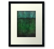 The Weight of Identity Framed Print