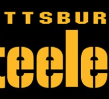 Pittsburgh Steelers logo 3 Sticker