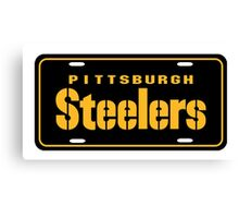 Pittsburgh Steelers logo 3 Canvas Print