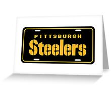 Pittsburgh Steelers logo 3 Greeting Card