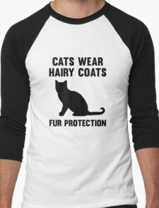 Fur Protection Men's Baseball ¾ T-Shirt
