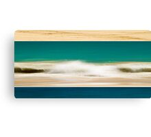 Colours of the West Coast Canvas Print