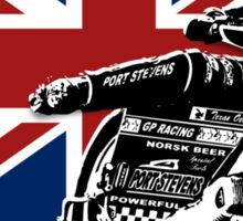 UK Speedway Motorcycle Racing Sticker