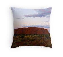 Moods of Uluru 4 Throw Pillow