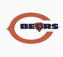 Chicago Bears logo 5 Baby Tee