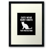 Fur Protection Framed Print