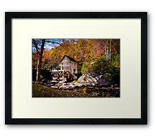 Autumn Morning in West Virginia Framed Print
