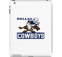 Dallas Cowboys logo 4 iPad Case/Skin