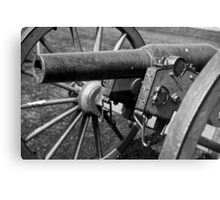 Civil War Cannon 2 Canvas Print