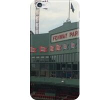 Fenway Park from the Green Monster iPhone Case/Skin