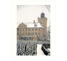 Mainefeld vineyards Art Print