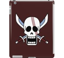 one piee red hair shanks jolly roger anime manga shirt iPad Case/Skin