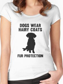 Fur Protection Women's Fitted Scoop T-Shirt