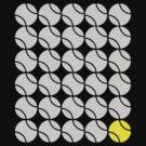 One Yellow Ball - Light by Spencer Tymchak