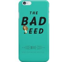 Retro Movie The Bad Seed iPhone Case/Skin