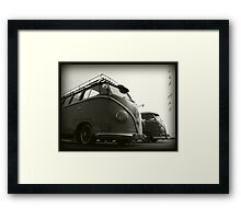VW Type 2 Framed Print
