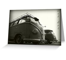 VW Type 2 Greeting Card