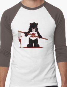 Scare Bear Men's Baseball ¾ T-Shirt
