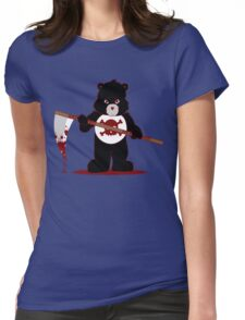 Scare Bear Womens Fitted T-Shirt