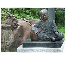 Sitting Little Buddha Poster