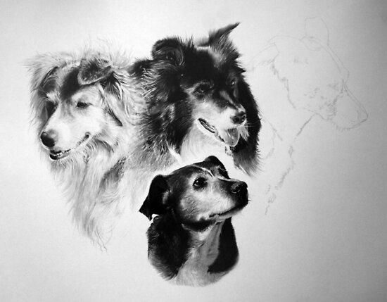 Sketching the Ballantines - WIP by Jan Szymczuk