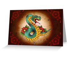 Snake Ache Greeting Card