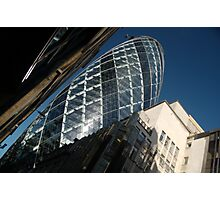 The London Gherkin Photographic Print