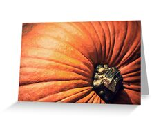 Ripe Pumpkin  Greeting Card