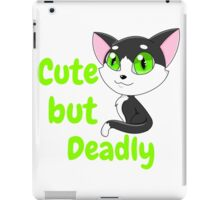 Cute but Deadly iPad Case/Skin