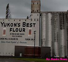 Yukon Best Flour Mural  by Zandra Denny