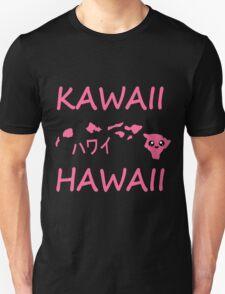 Kawaii Hawaii - Pink  Unisex T-Shirt