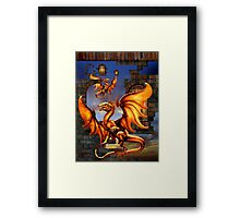 Defeat Of A Kingdom Framed Print