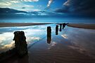 Reflections in Blue by Andy Freer