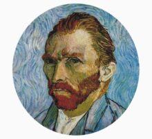 Van Gogh Self Portrait 3/5 by Hunter Bustamante