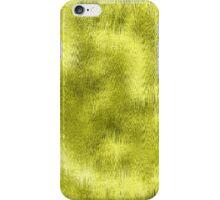 Yellow Green Wet Glass Pattern iPhone Case/Skin