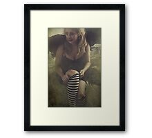 Before Anyone Suspects... Framed Print