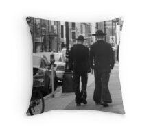 2 1/2 Caballeros Throw Pillow