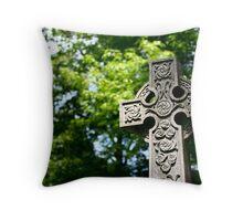 Celtic Cross - Camp Hill Throw Pillow