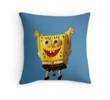 Earth, Wind and Flyers ( Sponge Bob) Throw Pillow