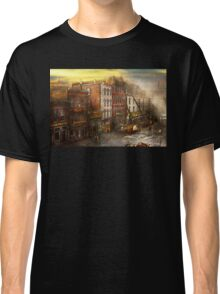 Fireman - Washington DC - Fire at Bedell's Bedding 1915 Classic T-Shirt