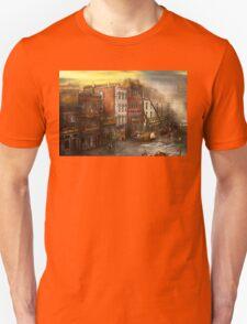 Fireman - Washington DC - Fire at Bedell's Bedding 1915 Unisex T-Shirt