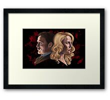 The Cannibal & The Bride Framed Print