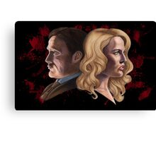 The Cannibal & The Bride Canvas Print