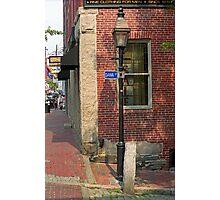 Portland, Maine - Dana Street Photographic Print