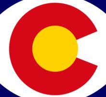 Coloradan Murican Patriot Flag Series Sticker