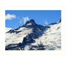 High Cascades Art Print