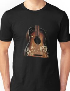 Cowboy Guitar Unisex T-Shirt