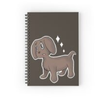 Bark Bark Spiral Notebook