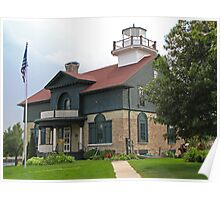 Old Michigan City Lighthouse Poster