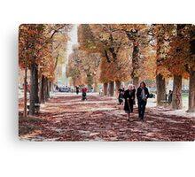 October walk Canvas Print